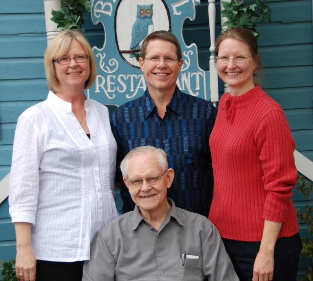 Robin, Bob Jr., Lori, Bob Sr.