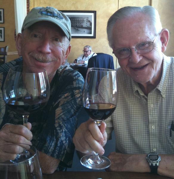 Dad and Wayne in Stillwater, OK 2010