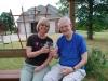 Dad & Robin Chardonnay hour in OK 2010