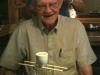 Dad preparing to indulge in a 'sake bomb' in Stillwater, OK 2010