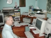 Dad at his desk, 2000.