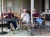 Dad, Wayne, and Bob at Robin & Wayne's house in OK, 2012