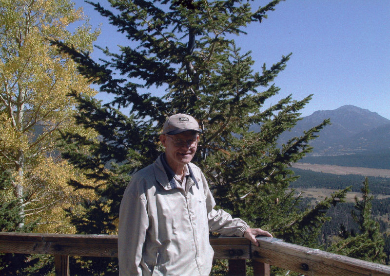 Dad at Rocky Mountain National Park