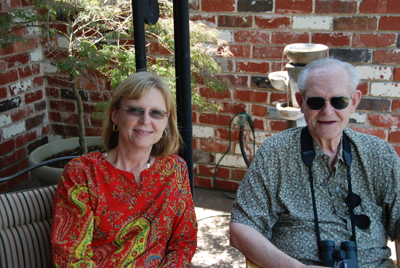 Dad and Robin in OK, 2011