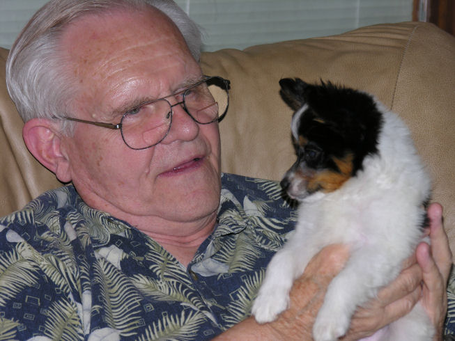 Bob with Scooter 2006