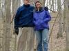 Bob and Lori on a hike in St. Louis. 2007