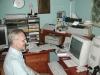 Dad at his desk, 2000.